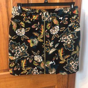 INC International Concepts Zip Up Skirt
